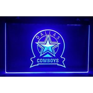 Other - Dallas Cowboys Man Cave Beer Pub LED Light Sign